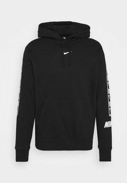 Nike Sportswear - REPEAT HOODIE  - Sweat à capuche - black/white