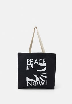 Obey Clothing - PEACE NOW UNISEX - Shoppingväska - black