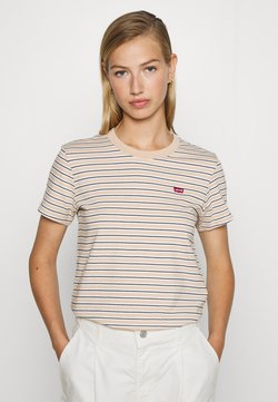 Levi's® - PERFECT TEE - T-Shirt print - moonstone toasted almond