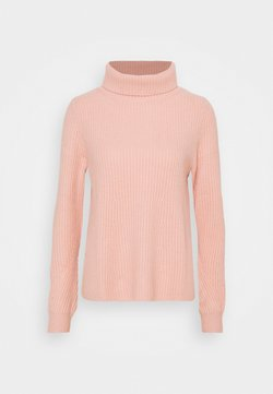 FTC Cashmere - HIGHNECK - Strickpullover - peach powder