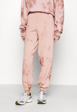 Topshop - TIE DYE JOGGER - Jogginghose - pink