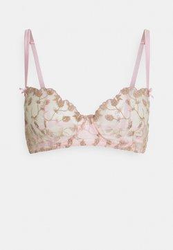 Coco de Mer - ELIZABETH BRA - Balconette BH - pink