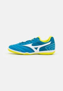 Mizuno - MRL SALA CLUB IN - Indoor football boots - mykonos blue/white