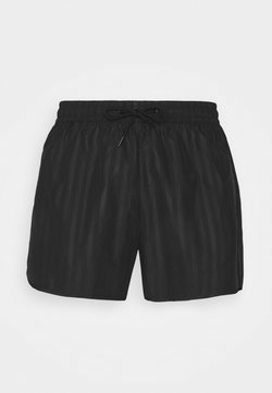 Weekday - TONAL STRIPE  - Shorts - black