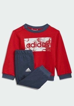 adidas Performance - ESSENTIALS  SET - Collegepaita - red