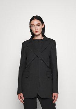 MM6 Maison Margiela - Krótki płaszcz - grey melange
