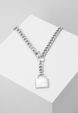 Uncommon Souls - CHUNKY YNECK  - Necklace - silver-coloured
