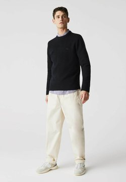 Lacoste - PULLY - Strickpullover - bleu marine