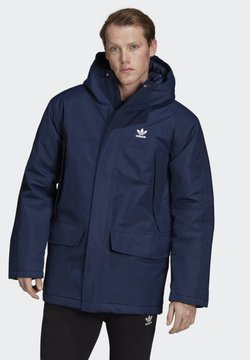 adidas Originals - PADDED PARKA - Parka - blue
