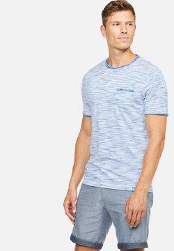 Colours & Sons - MARIO - T-Shirt print - blau
