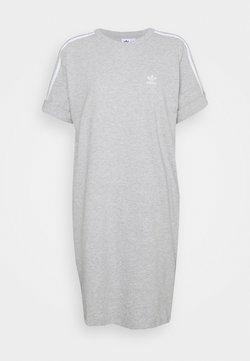 adidas Originals - TEE DRESS - Trikoomekko - medium grey heather