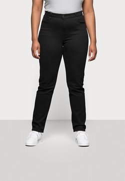 Levi's® Plus - 724 PL HR STRAIGHT - Straight leg jeans - black sheep