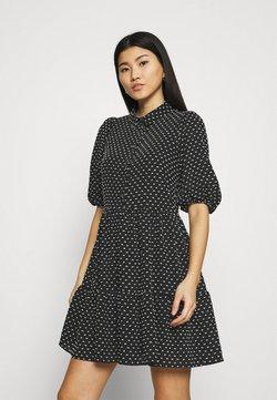 Closet - GATHERED DRESS - Blusenkleid - black