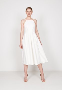 True Violet - STRAPPY SKATER - Cocktailkleid/festliches Kleid - off white