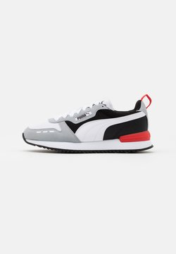 Puma - R78 UNISEX - Sneaker low - quarry/white/black