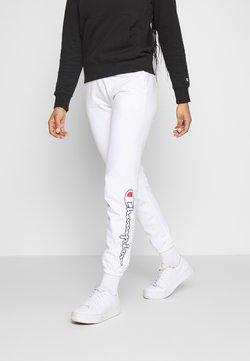 Champion Rochester - ELASTIC CUFF PANTS - Jogginghose - white