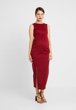 True Violet Maternity - MIDAXI DRESS WITH SPLIT - Etui-jurk - bordeaux