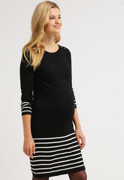 JoJo Maman Bébé - Gebreide jurk - black/ecru