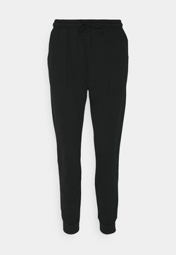Esprit - PANT WASH - Jogginghose - black
