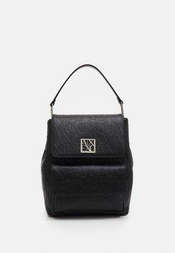 Armani Exchange - WOMANS BACKPACK - Reppu - black