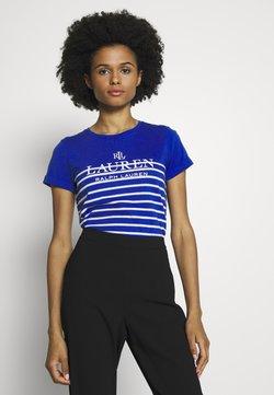 Lauren Ralph Lauren - MICRO - T-Shirt print - blue glacier