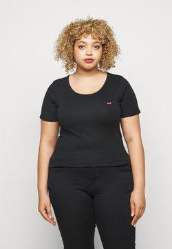Levi's® Plus - TEE 2 PACK - T-shirt z nadrukiem - black