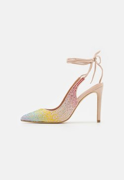 TWINSET - DECOLLETE ALTO ALLACCIATA CAVIGLIA - Zapatos de salón con cordones - rainbow