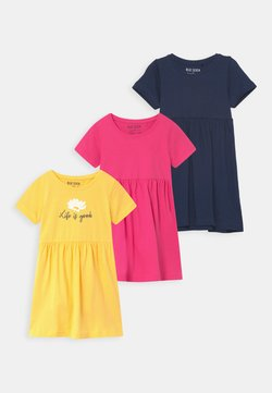 Blue Seven - SMALL GIRLS 3 PACK - Jerseykleid - multi