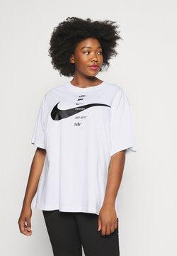 Nike Sportswear - T-Shirt print - white/black