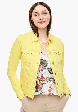 s.Oliver - JACKE - Veste en jean - light yellow