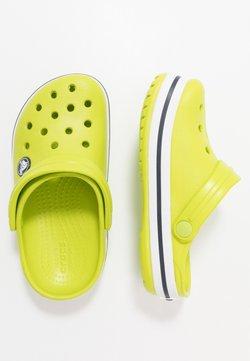 Crocs - CROCBAND CLOG - Pantolette flach - lime punch