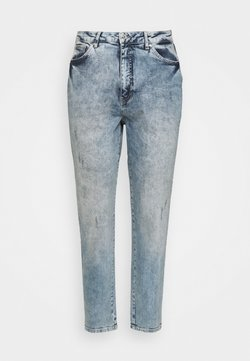 Vero Moda Curve - VMVIBE MOM - Straight leg -farkut - medium blue denim