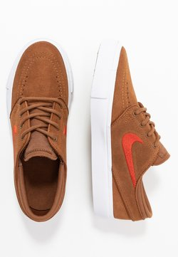 Nike SB - STEFAN JANOSKI - Sneaker low - light british tan/mystic red/white/light brown