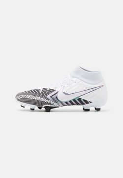 Nike Performance - MERCURIAL 7 ACADEMY MDS FG/MG - Fußballschuh Nocken - white/black