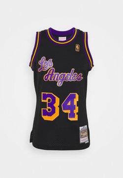 Mitchell & Ness - NBA LOS ANGELES LAKERS RELOAD SWINGMAN SHAQUILLE O'NEAL - Pelipaita - black