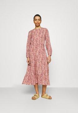 Moss Copenhagen - AILISA DRESS - Vapaa-ajan mekko - zinfandel