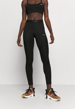 Nike Performance - Tights - black/gold
