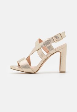 Menbur - Platform sandals - gold