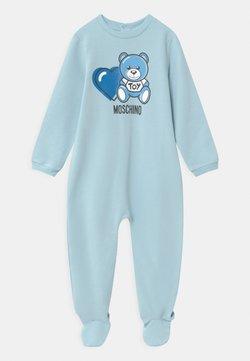 MOSCHINO - BABYGROW ADDITION - Kruippakje - sky blue
