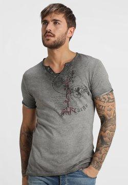 Key Largo - WEAPON - T-shirt print - anthrazit