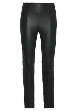 Steffen Schraut - BROOKLYN LUXURY ROCKSTAR PANTS - Leather trousers - black