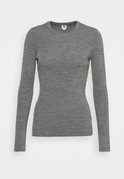 ARKET - Sweter - grey melange