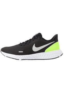 Nike Performance - REVOLUTION 5 - Juoksukenkä/neutraalit - black/grey fog/volt/white