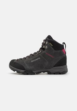 Scarpa - MOJITO HIKE GTX - Hikingschuh - shark/red rose
