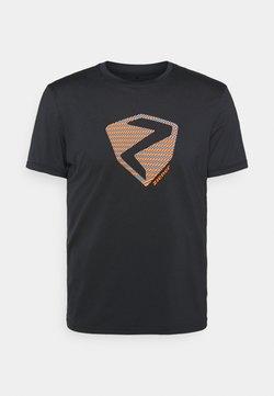 Ziener - NOLAF MAN - T-Shirt print - black