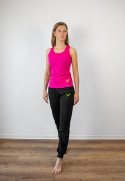 Biyoga - TANK BASIC DAMEN - Top - himbeere