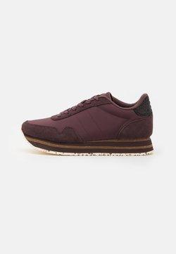 Woden - NORA PLATEAU - Sneakers basse - fudge
