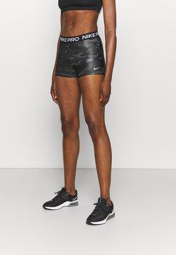 Nike Performance - CAMO - Tights - dark smoke grey/white