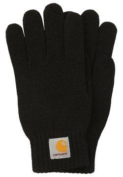 Carhartt WIP - WATCH GLOVES UNISEX - Fingerhandschuh - black