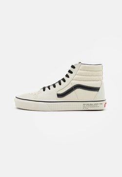 Vans - SK8 UNISEX - Sneakersy wysokie - antique white/black